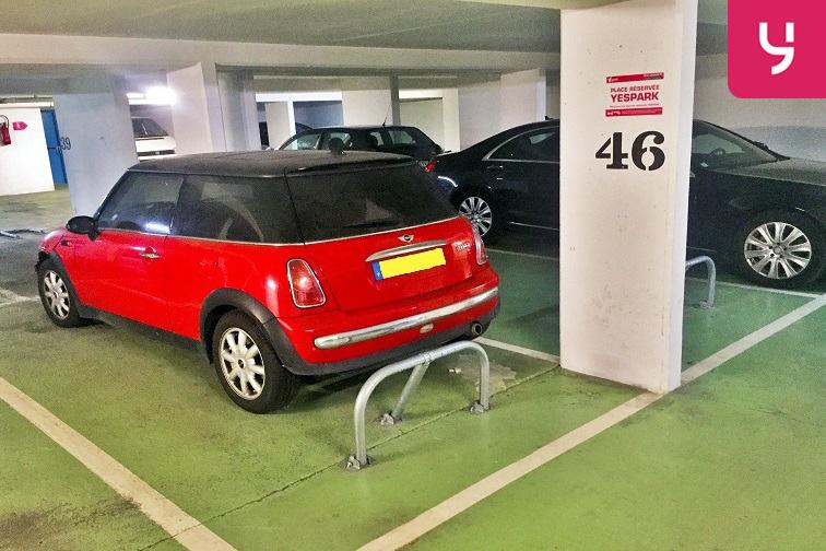 Parking Alexandre Dumas - Charonne caméra