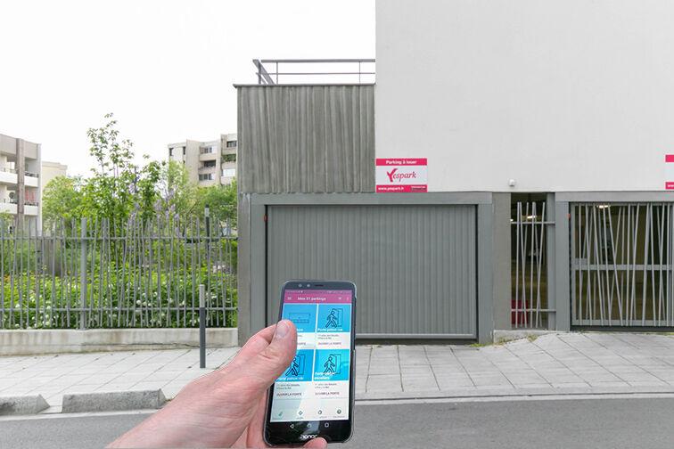 Location parking Rue Olympe de Gouges - RER Les Grésillons - Villiers-le-Bel