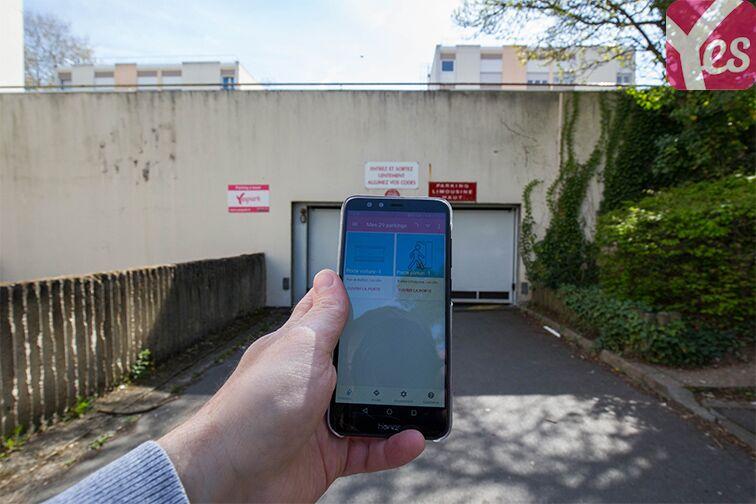 location parking Allée Limousine - Les Ulis - Droite