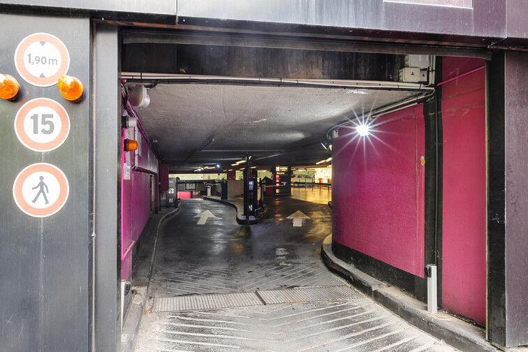 Parking Gare de Nice - Avenue Jean Médecin - Nice box