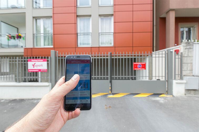 Location parking Parc du Coteau - Rue du Professeur Bergonié - Le Kremlin-Bicêtre