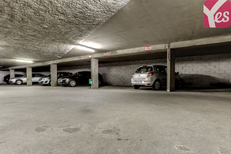 Parking Charpennes location mensuelle