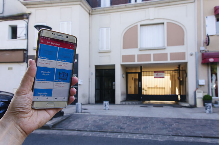 location parking Parc d'Avaucourt - Rue Etienne Lebeau - Athis-Mons