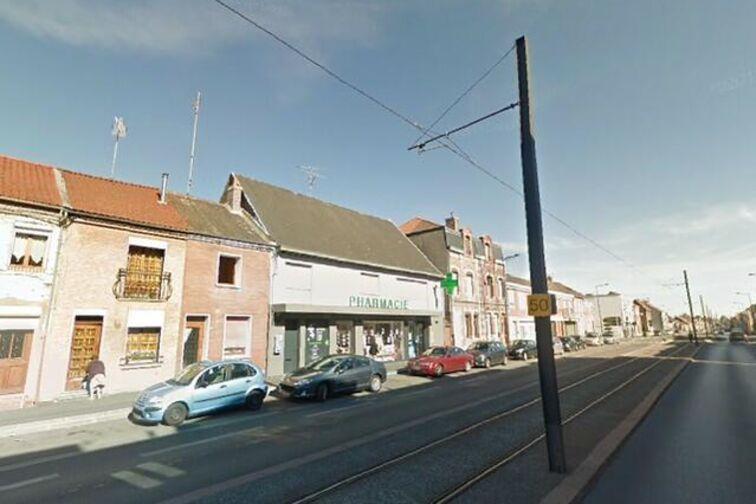 location parking Saintation Bruay Place - Jean Jaurès - Bruay-sur-l'Escaut - (aérien)