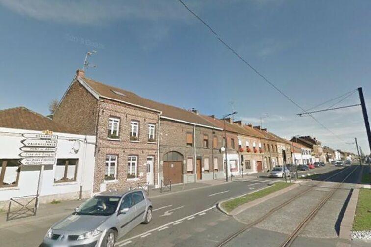 location parking Saintade - Jean Jaurès - Bruay-sur-l'Escaut - (aérien)