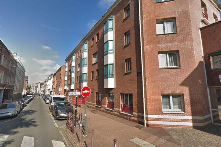 location parking Gambetta/Nationale - Sainte-Barbe - Lille - (aérien)
