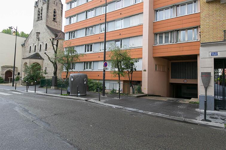 Parking Porte des Lilas 75020