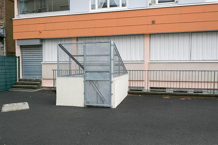 Parking Porte des Lilas caméra