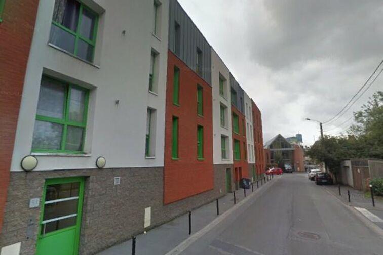 Parking Parc de la citadelle - Clos des Villas - Valenciennes - (aérien) 51 rue du Clos des Villas