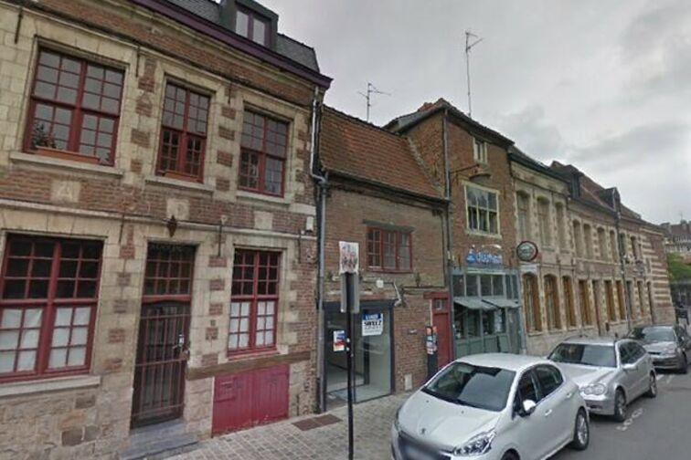 location parking Hôtel de Ville - Henri Lemaire - Valenciennes - (aérien)