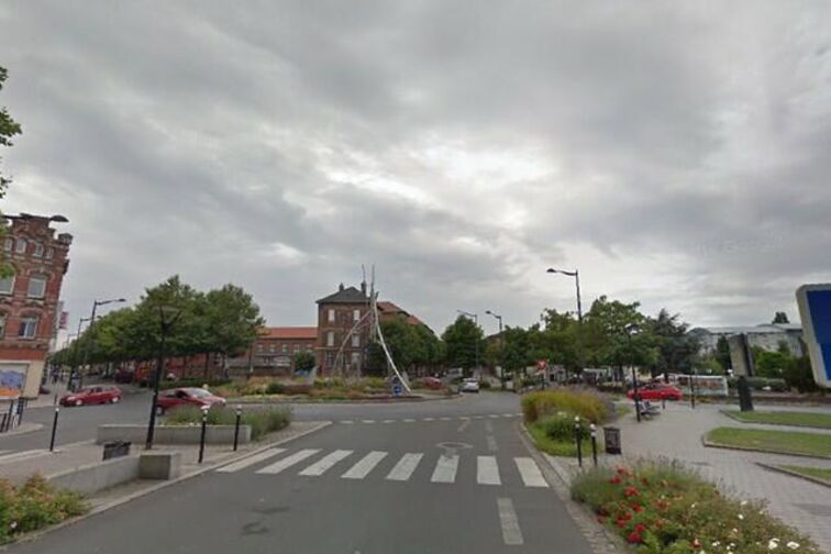 location parking Lycée Henri-Wallon - Henri Harpignies - Valenciennes - (aérien)