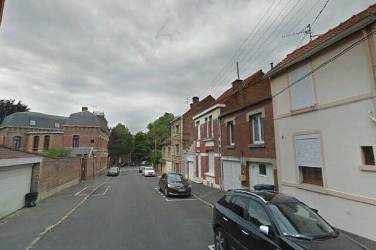 Parking Place du Canada - Royes - Valenciennes - (aérien) Valenciennes