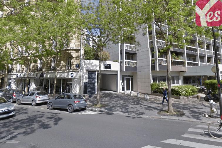 location parking Georges Brassens