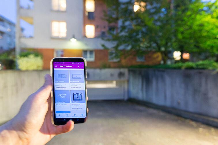 Parking Médiathèque Boris Vian - Avenue Georges Brassens - Chevilly-Larue en location