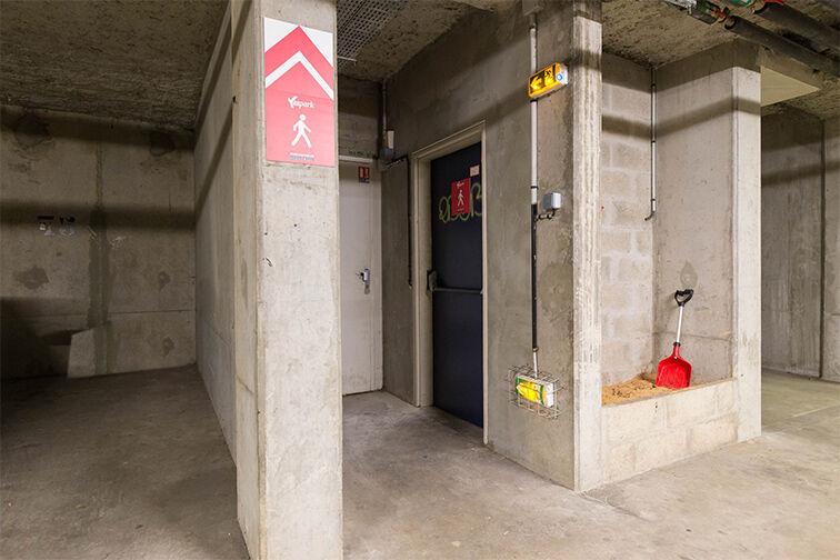 Parking Médiathèque Boris Vian - Avenue Georges Brassens - Chevilly-Larue sécurisé