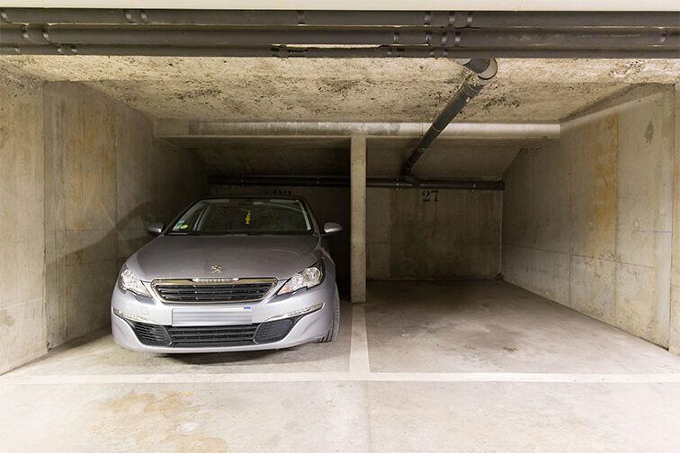 Parking Médiathèque Boris Vian - Avenue Georges Brassens - Chevilly-Larue Allée des Horticulteurs
