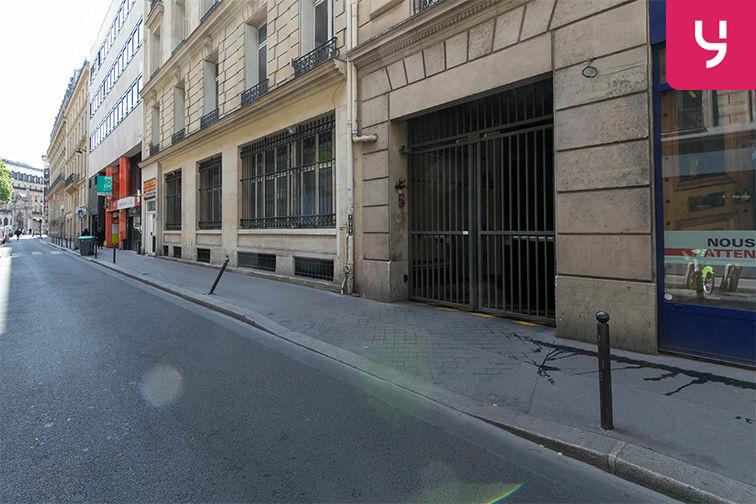 Parking RER Auber - Paris 9 - (box) gardien