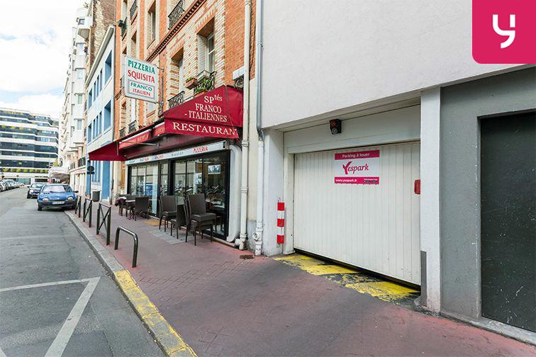 Parking Rue Deguingand - Levallois-Perret (place moto) box