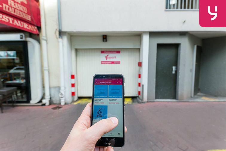 location parking Rue Deguingand - Levallois-Perret (place moto)