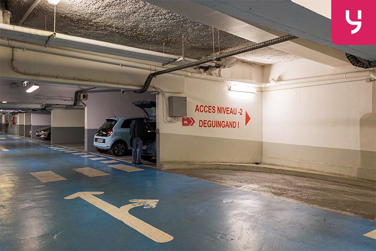 Parking Rue Deguingand - Levallois-Perret (place moto) location mensuelle