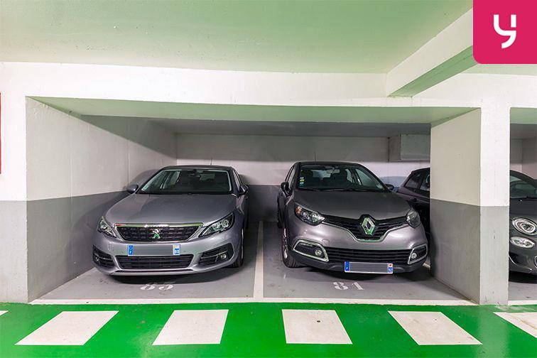 Parking Rue Deguingand - Levallois-Perret (place moto) gardien