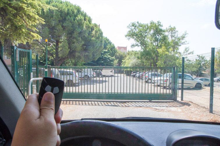 Parking IUT d'Aix-Marseille sité Marseille Saint-Jérôme - Marseille 14 (aérien) sécurisé