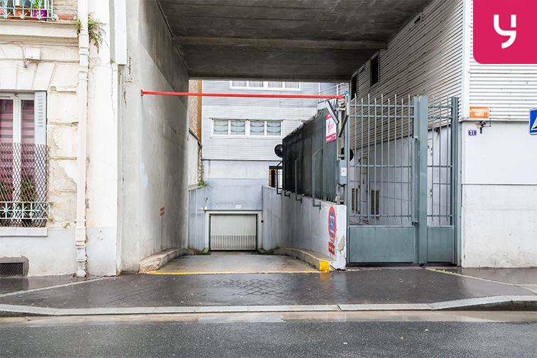 Parking Garibaldi - Rue de l'Hermet - Saint-Ouen (place moto) avis