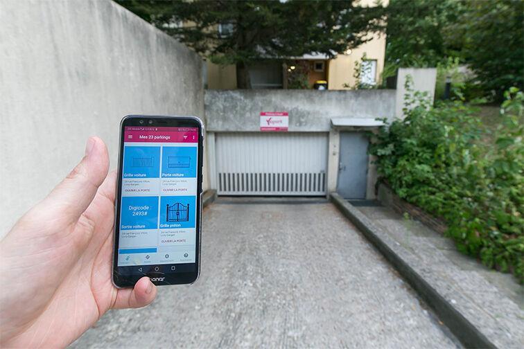 Parking Rue François Villon - Livry-Gargan souterrain