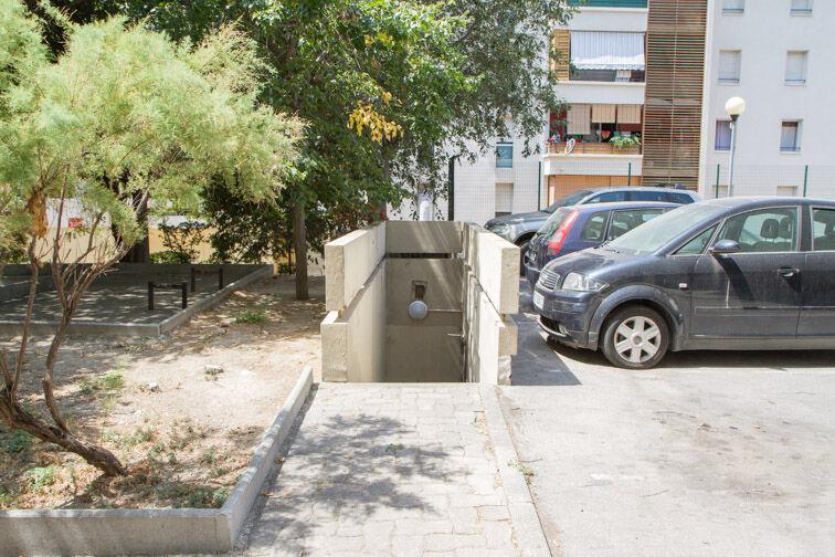 Parking Métro Désirée Clary - Marseille sécurisé