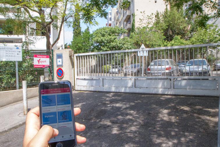 Location parking Métro Désirée Clary - Marseille