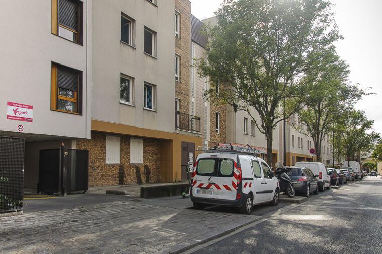 Parking Cité scolaire Henri Wallon - Aubervilliers caméra