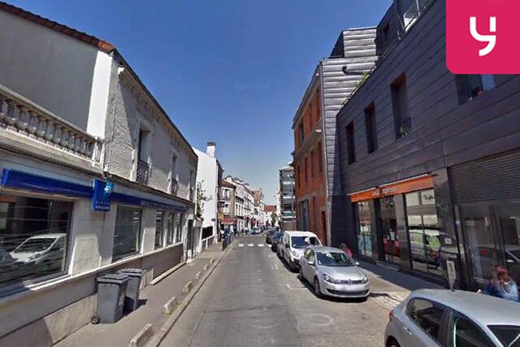 location parking Square Stalingrad - Rue du Docteur Pesque - Aubervilliers