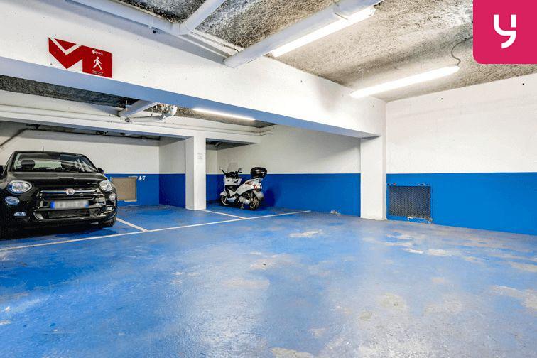 Parking Jacques Cartier - Guy Môquet (place moto) sécurisé