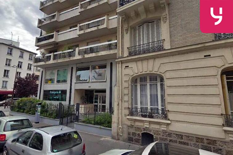 location parking Pont de Neuilly - Rue Ybry - Neuilly-sur-Seine (place moto)