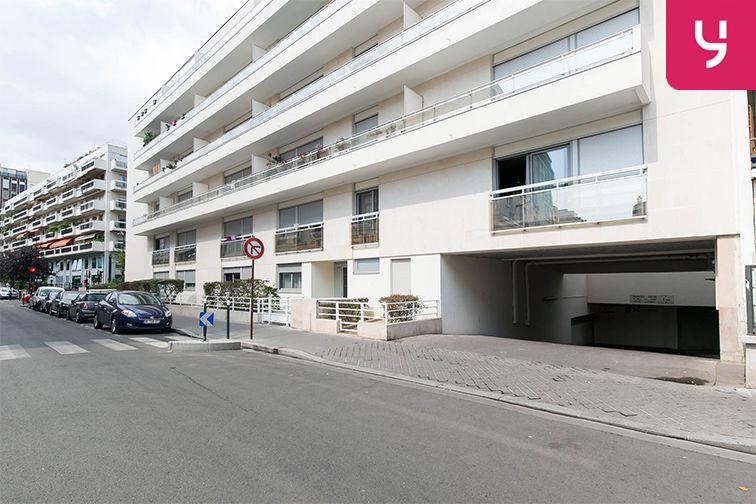 Parking Pont de Neuilly - Rue Ybry - Neuilly-sur-Seine (place moto) en location