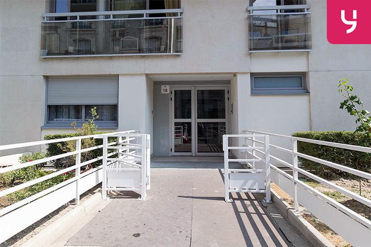 Parking Pont de Neuilly - Rue Ybry - Neuilly-sur-Seine (place moto) caméra