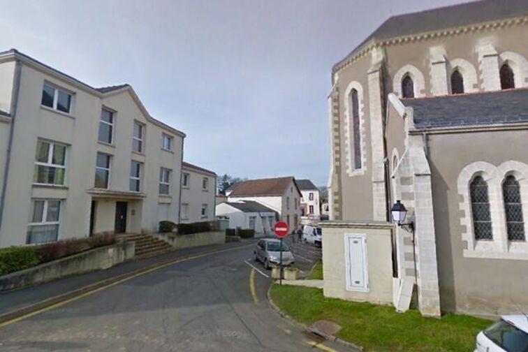 location parking Paroisse Sainte Anne de Goulaine - Saint-Brice - Basse-Goulaine - (aérien)