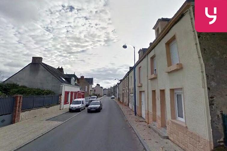Parking Presbytère - Prise d'Eau - Nort-sur-Erdre - (aérien) caméra