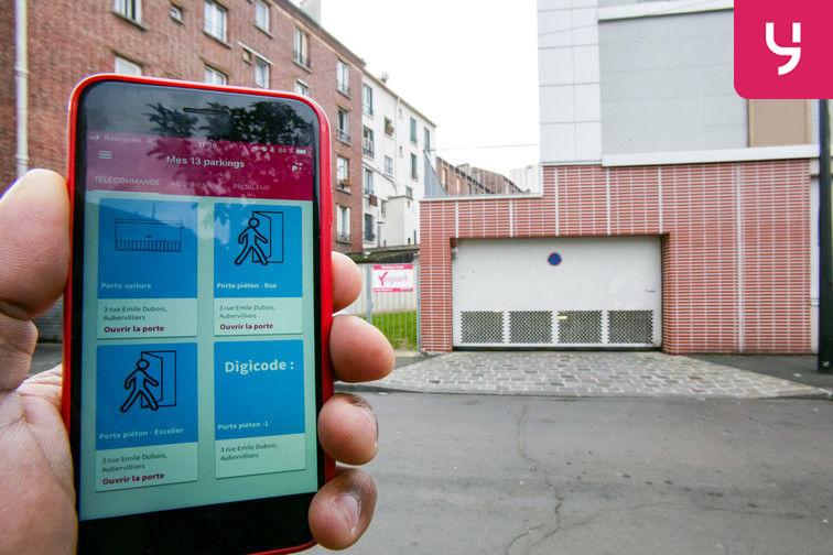 Location parking Maladerie - Emile Dubois (place moto)