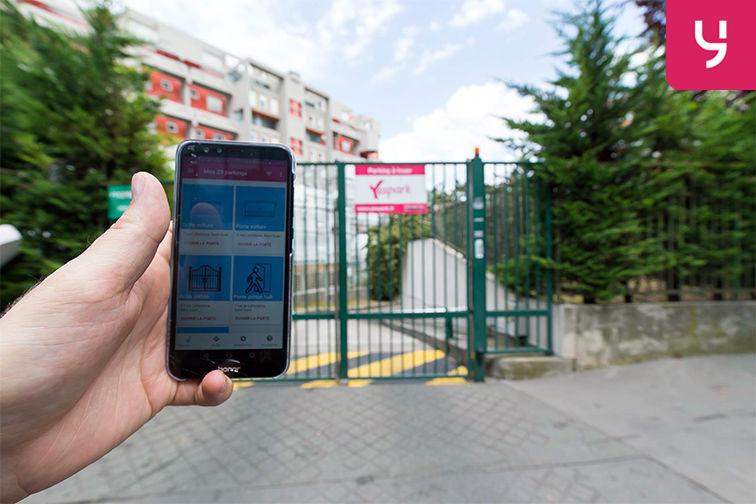 location parking Rue de la Fontaine - Saint-Ouen (place double)