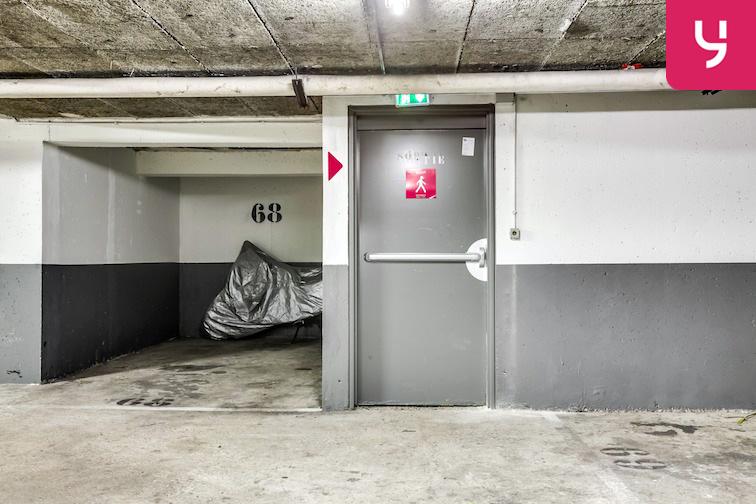 Parking Clisson - Paris caméra