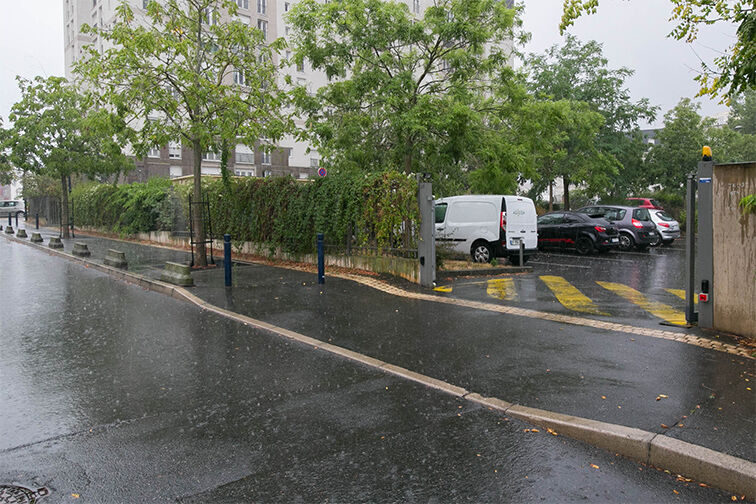 Parking Collège Departemental Georges politzer - Dammarie-les-Lys avis