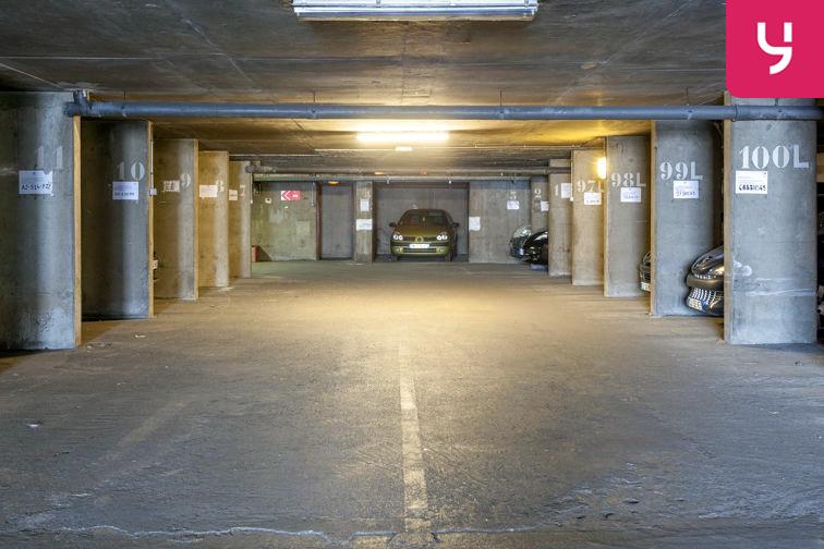 Parking Parc Blandan (Place double) box