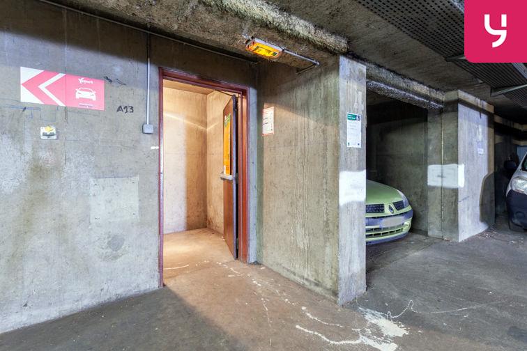Parking Parc Blandan (Place double) location
