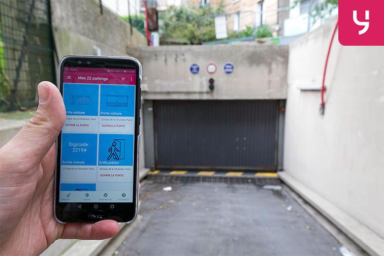 location parking Rue de Belgrand - Métro Porte de Bagnolet - Paris 20 (place moto)