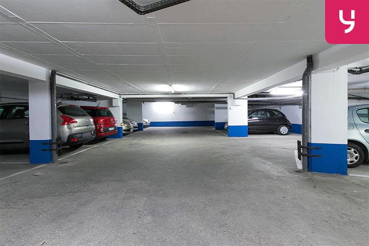 Parking Rue de Belgrand - Métro Porte de Bagnolet - Paris 20 (place moto) Paris