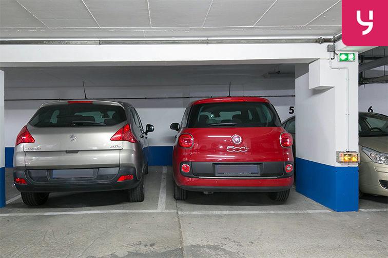 Parking Rue de Belgrand - Métro Porte de Bagnolet - Paris 20 (place moto) à louer
