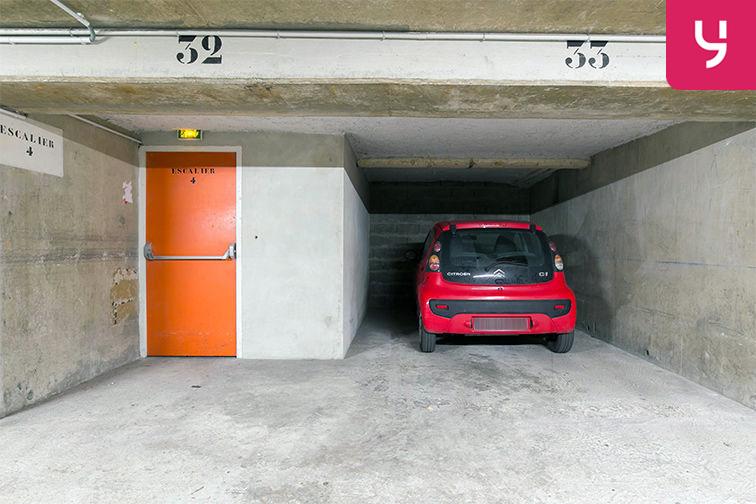 Parking Boulevard General Leclerc - Neuilly-sur-Seine (place double) caméra