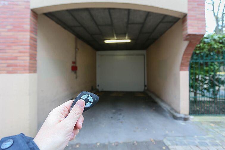 Entrez dans le parking grâce au badge