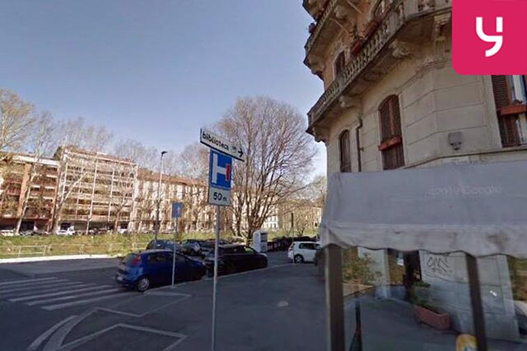 Ingresso al parcheggio Yespark si trova su Lungo Dora Agrigento, 125 a Torino